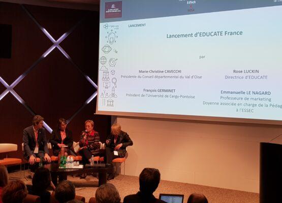 L'AFINEF, partenaire de Educate France, une initiative portée par le Val d'Oise